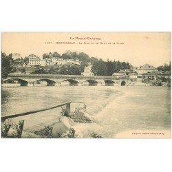 carte postale ancienne 31 MONTREJEAU. Le Pont
