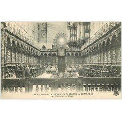 carte postale ancienne 31 SAINT-BERTRAND-DE-COMMINGES. 66 Stalles et Orgues