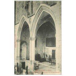 carte postale ancienne 31 SAINT-BERTRAND-DE-COMMINGES. Bas-Côté Cathédrale