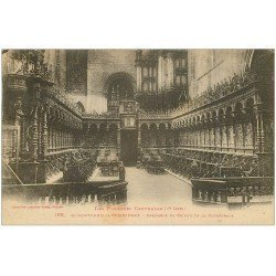 carte postale ancienne 31 SAINT-BERTRAND-DE-COMMINGES. Choeur et Orgues 1927