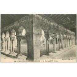 carte postale ancienne 31 SAINT-BERTRAND-DE-COMMINGES. Cloître