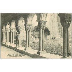 carte postale ancienne 31 SAINT-BERTRAND-DE-COMMINGES. Cloître Colonnettes