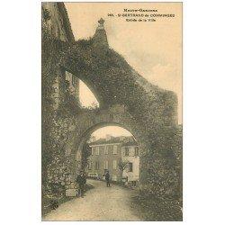carte postale ancienne 31 SAINT-BERTRAND-DE-COMMINGES. Entrée Ville