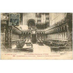 carte postale ancienne 31 SAINT-BERTRAND-DE-COMMINGES. Le Choeur 1931