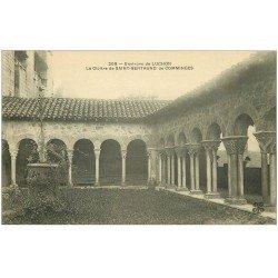 carte postale ancienne 31 SAINT-BERTRAND-DE-COMMINGES. Le Cloître