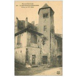 carte postale ancienne 31 SAINT-BERTRAND-DE-COMMINGES. Maison ancienne