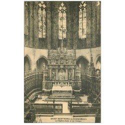 carte postale ancienne 31 SAINT-BERTRAND-DE-COMMINGES. Maître-Autel et Vitraux