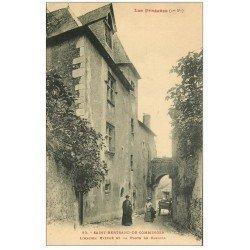 carte postale ancienne 31 SAINT-BERTRAND-DE-COMMINGES. Porte de Cabirol