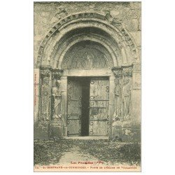 carte postale ancienne 31 SAINT-BERTRAND-DE-COMMINGES. Porte de Valcabrère