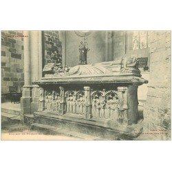 carte postale ancienne 31 SAINT-BERTRAND-DE-COMMINGES. Tombeau de Castellionne
