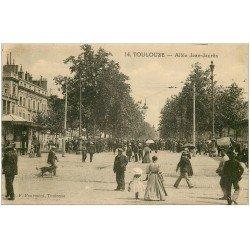 carte postale ancienne 31 TOULOUSE. Allée Jean-Jaurès n° 14