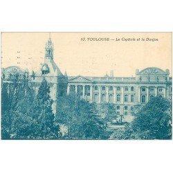 carte postale ancienne 31 TOULOUSE. Capitole et Donjon 1923
