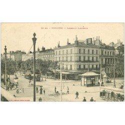 carte postale ancienne 31 TOULOUSE. Carrefour Lafayette 1909