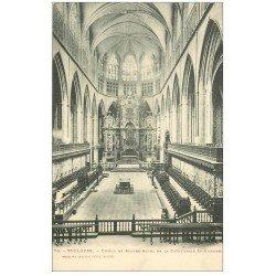 carte postale ancienne 31 TOULOUSE. Choeur et Autel Cathédrale Saint-Etienne
