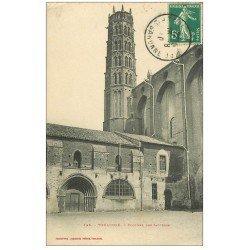 carte postale ancienne 31 TOULOUSE. Clocher des Jacobins 1910
