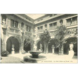 carte postale ancienne 31 TOULOUSE. Cloître Musée LL 48