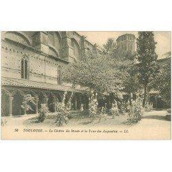 carte postale ancienne 31 TOULOUSE. Cloître Musée Tour Augustins