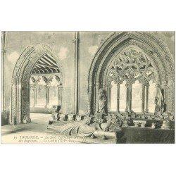 carte postale ancienne 31 TOULOUSE. Cloître Salle Capitulaire