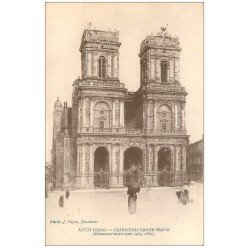 carte postale ancienne 32 AUCH. Cathédrale Sainte-Marie 1469-1662