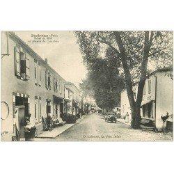 carte postale ancienne 32 BARBOTAN. Hôtel du Midi Avenue de Cazaubon