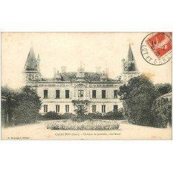 carte postale ancienne 32 CAZAUBON. Château de Jouanin 1909