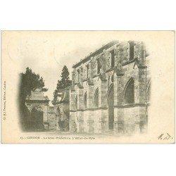 carte postale ancienne 32 CONDOM. Sous-Préfecture Hôtel de Ville 1902