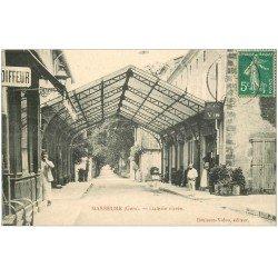 carte postale ancienne 32 MASSEUBE. Galerie vitrée 1910 Avenue du Gers