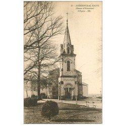 carte postale ancienne 33 ANDERNOS-LES-BAINS. L'Eglise 1933