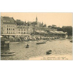 carte postale ancienne 33 ARCACHON. Casino Deganne