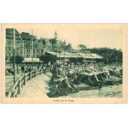 carte postale ancienne 33 ARCACHON. Casino Plage. Léo Neveu