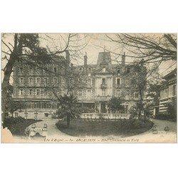 carte postale ancienne 33 ARCACHON. Hôtel Continental 1919