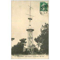 carte postale ancienne 33 ARCACHON. Le Belvédère 1912