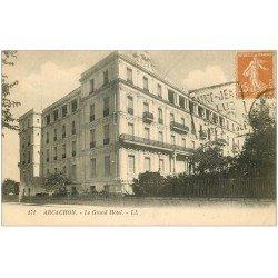 carte postale ancienne 33 ARCACHON. Le Grand Hôtel