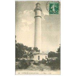 carte postale ancienne 33 ARCACHON. Le Phare 1912