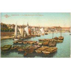 carte postale ancienne 33 BORDEAUX. Calle Saint-Jean Gabarres