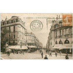 carte postale ancienne 33 BORDEAUX. Cours de l'Intendance 1929