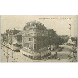 carte postale ancienne 33 BORDEAUX. Cours XXX Juillet n°48
