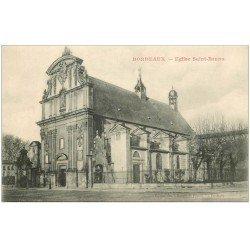 carte postale ancienne 33 BORDEAUX. Eglise Saint-Bruno