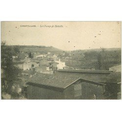 carte postale ancienne 33 CASTILLON. Le Champ de Bataille