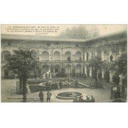carte postale ancienne 33 LIBOURNE. Casernement Ancien Hôpital