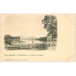 carte postale ancienne 33 LIBOURNE. Dordogne Tertre de Fronsac vers 1900