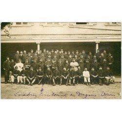 carte postale ancienne 33 LIBOURNE. Escadron Territorial de Dragons. Superbe Carte Photo Rare