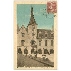 carte postale ancienne 33 LIBOURNE. Hôtel de Ville 1929
