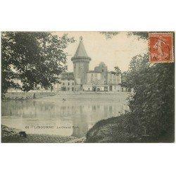 carte postale ancienne 33 LIBOURNE. Le Grand Port 1909