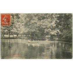 carte postale ancienne 33 LIBOURNE. Parc de l'Epinette 1908