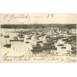 carte postale ancienne 35 CANCALE. La Houle 1901