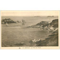 carte postale ancienne 35 CANCALE. Pointe Grouin