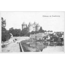 carte postale ancienne 35 COMBOURG. Château