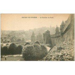 carte postale ancienne 35 FOUGERES. Château Courtine