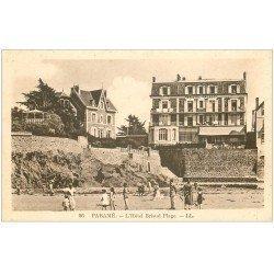 carte postale ancienne 35 PARAME. Hôtel Bristol Plage